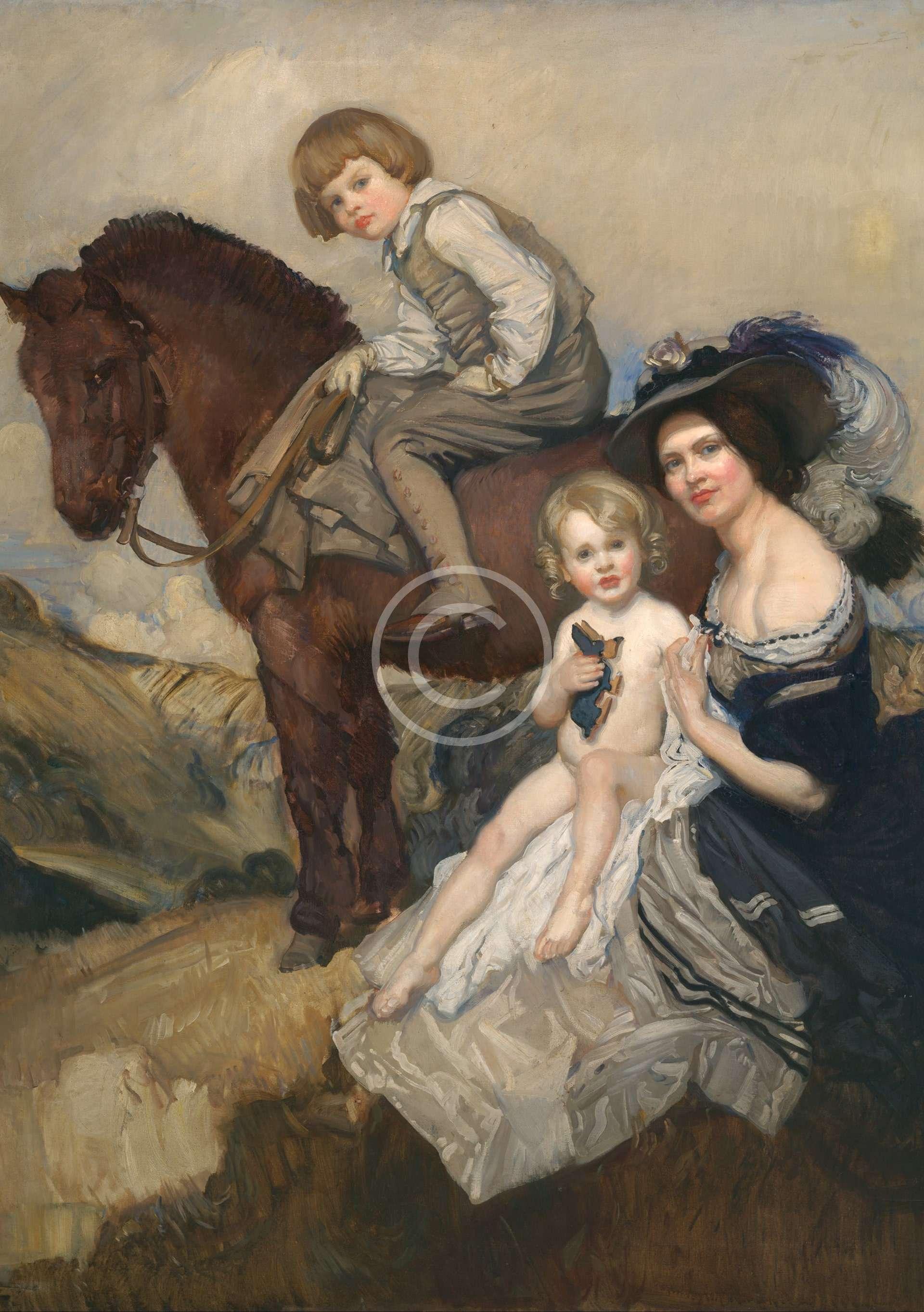 Portrait Group by Lambert