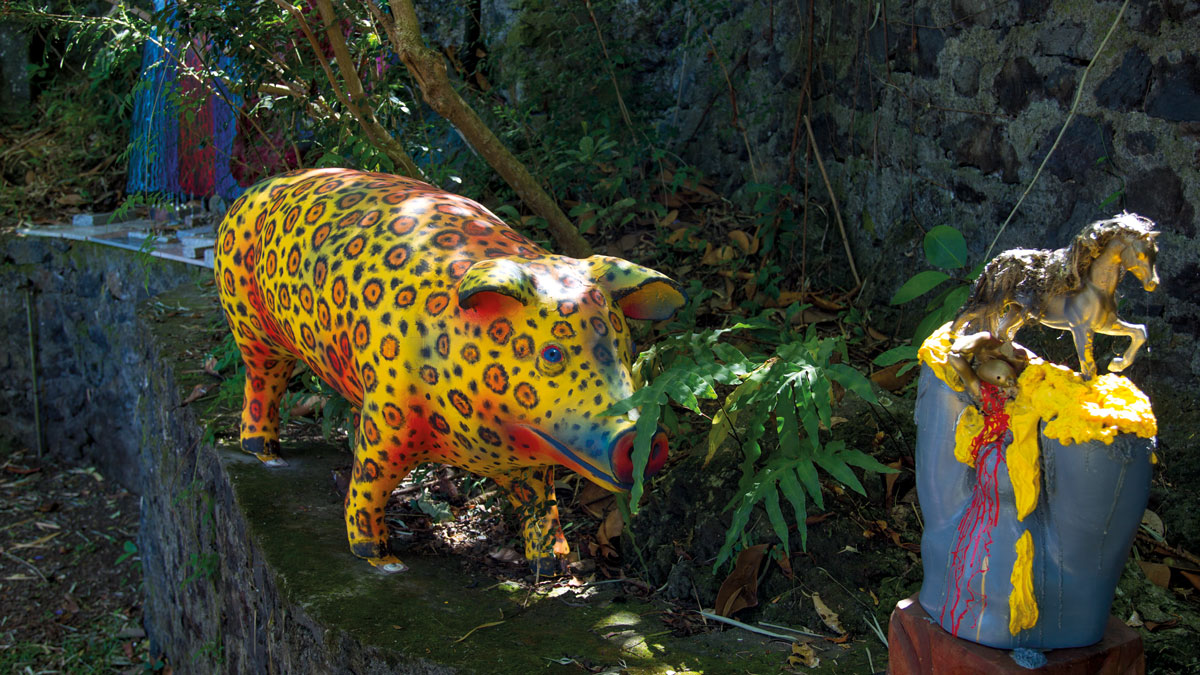 Le cochon-léopard