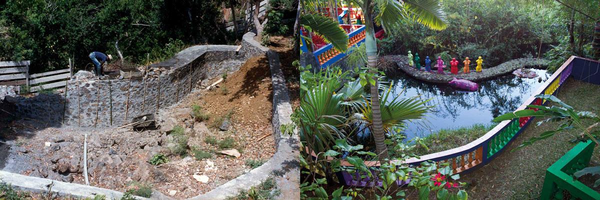 Les chantiers du Lieu d'Art Contemporain de La Réunion